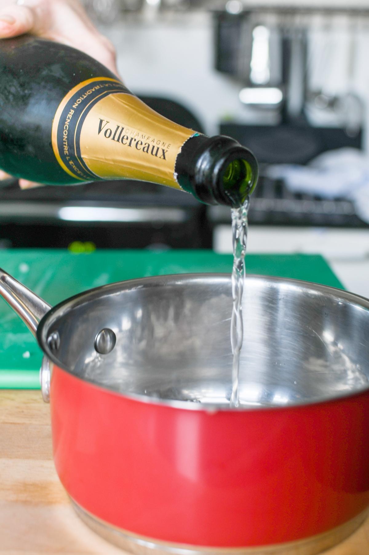 Diner au Champagne Villa Elizabeth Table d'Hôtes